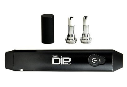 DipStick Vaporizer with heating chambers for wax