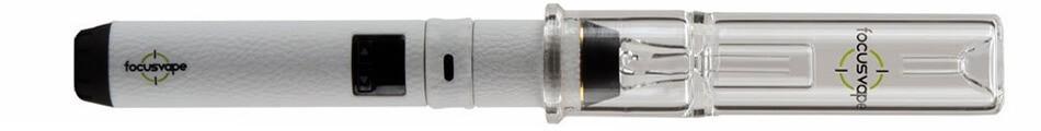 FocusVape Pro with hydro tube glass bubbler
