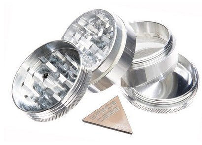 Space Case 4 Piece Marijuana Grinder