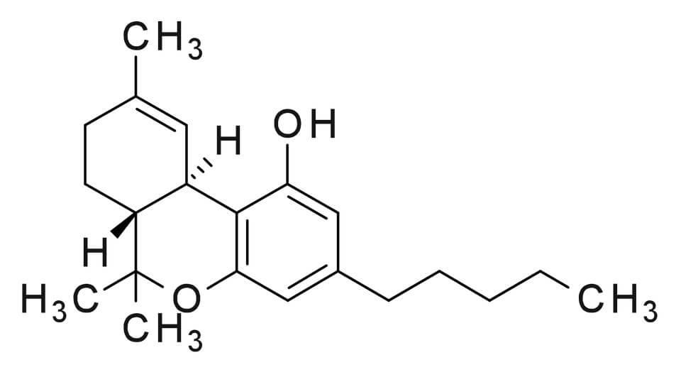 THC Structure Formula