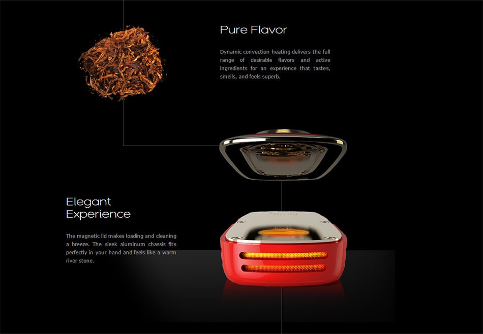 Firefly Vaporizer for dry herbs Features