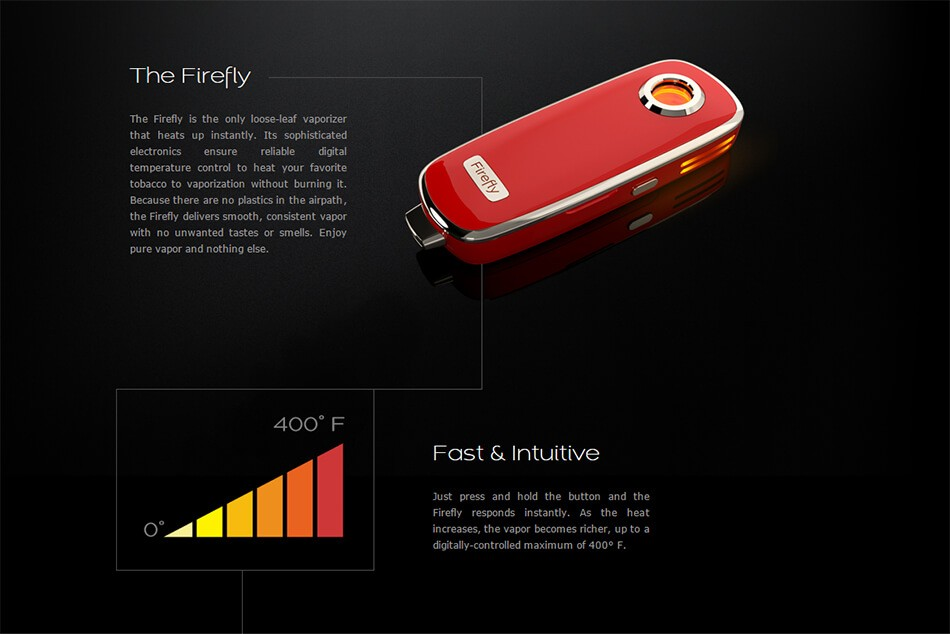 Firefly Pot Vaporizer Features