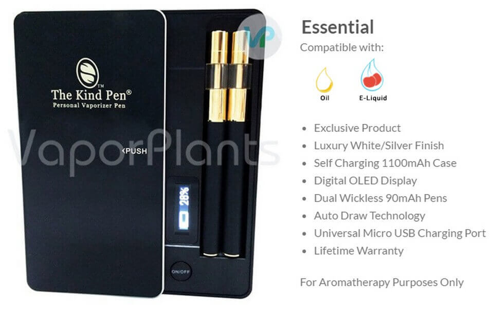 Essential CBD Oil Vape Pens by The Kind Pen Information