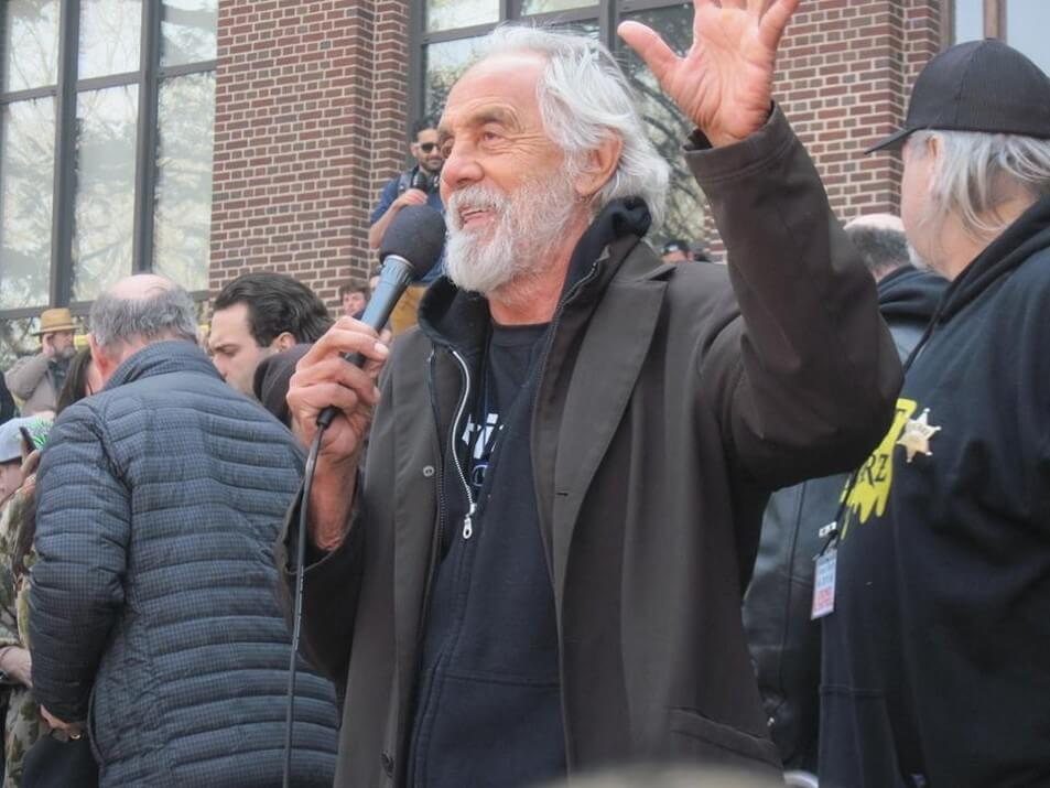 Tommy Chong Speaking