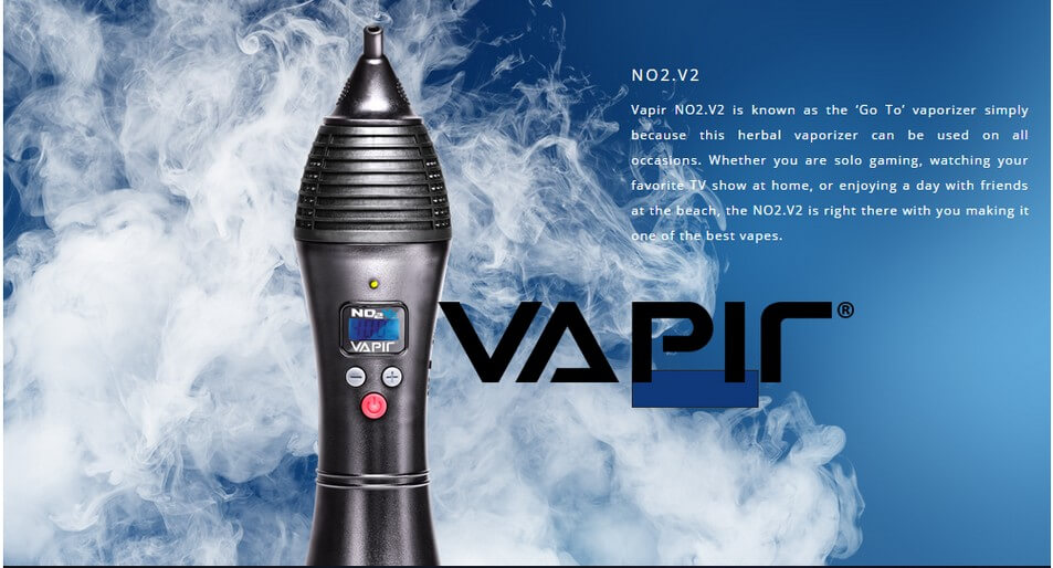 Vapir NO2 Vaporizer for Dry Herb Information