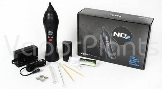 Vapir No2 Vaporizer for Dry Herb with Accessories and a Box