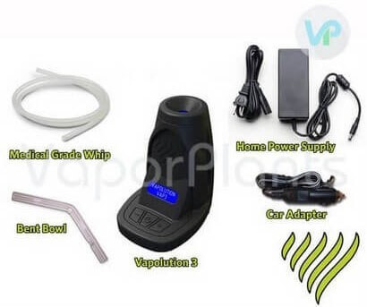 Vapolution VAP3 All Accessories Described