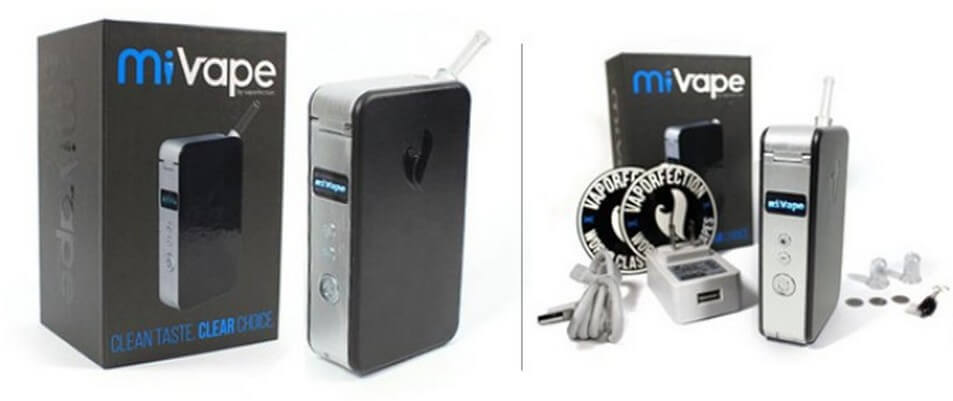 Vaporfection miVape Vaporizer with Box and All Accessories