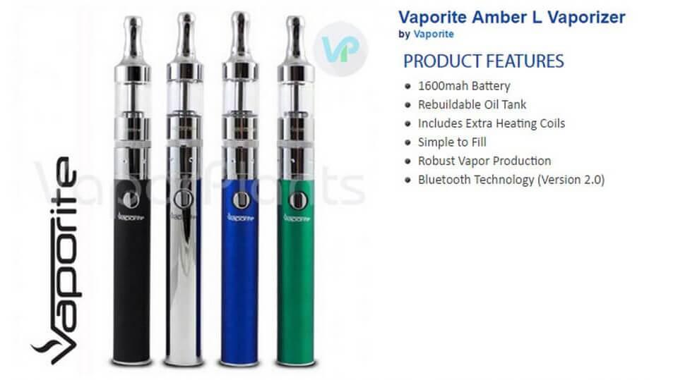 Vaporite Amber L e-Liquid Vape Information