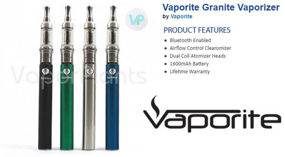 Vaporite Granite CBD Pen Information