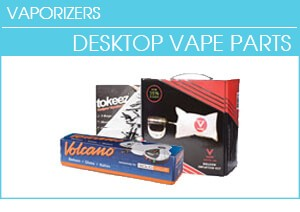 Desktop Vaporizer Parts and Accessories - Balloon Bags, Whips and Wands
