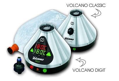 Volcano Classic Vaporizer and Volcano Digit Vaporizer