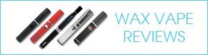 wax vaporizer pen reviews button