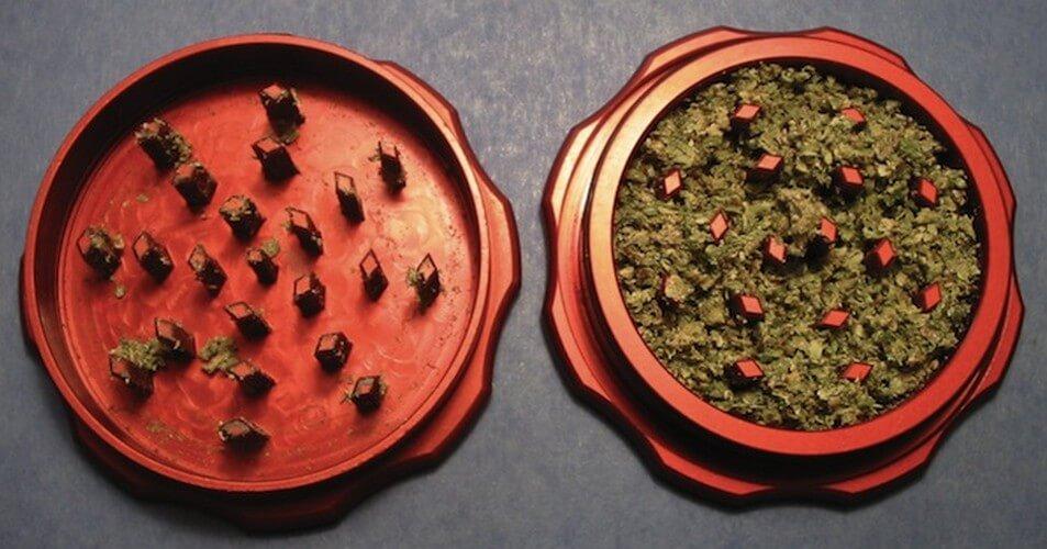 Open Herb Grinder