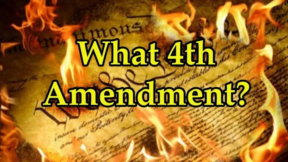 4th Amendment Banner