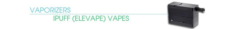 elevape, elevape smart, elevape vaporizer, ipuff usa, dry herb vaporizer, portable vaporizer