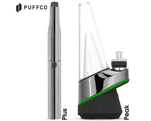 Puffco Plus and Peak Side by Side