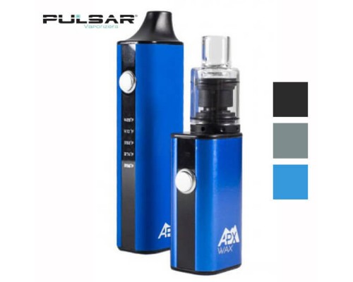 Pulsar APX Wax and Herbal Vaporizer side by side
