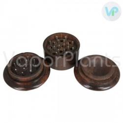 Wooden Herb Grinder - 3 Piece