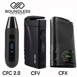 Boundless CFC and CFX and CFV Vaporizers Side by Side