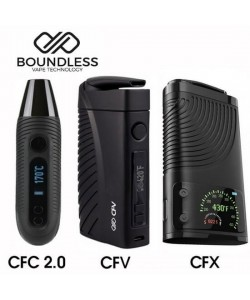 Boundless CFC, CF, CFV or CFX Vaporizer for Dry Herb
