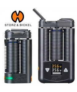 Mighty or Crafty+ Vaporizer for Dry Herb, Wax, Oil