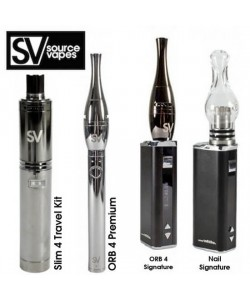 Source Slim, ORB 4, or Nail Vaporizer for Wax