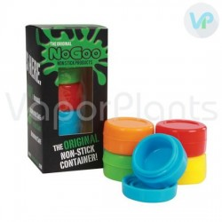 NoGoo Non-Stick Wax Containers 5 Pack