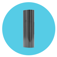 Pax 2 Vaporizer for Dry Herbs on Blue Back Ground