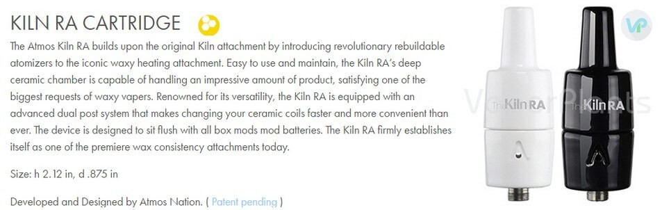 Atmos Kiln RA 510 Attachment Information