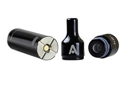 Atmos Kiln KIT mouthpiece, vape battery and wax atomizer
