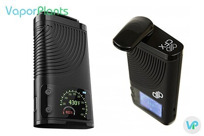 Boundless CFX Vaporizer with digital screen
