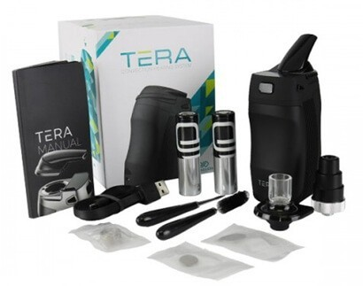 Boundless Tera Vaporizer with all Accessories