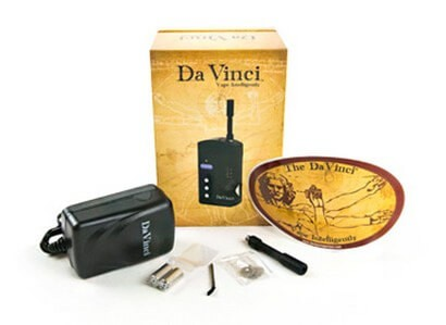 DaVinci Vaporizer for Dry Herbs with all Accessories
