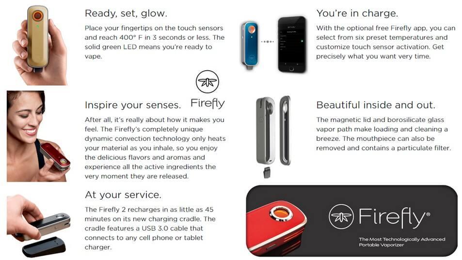 Firefly 2 Vaporizer Features
