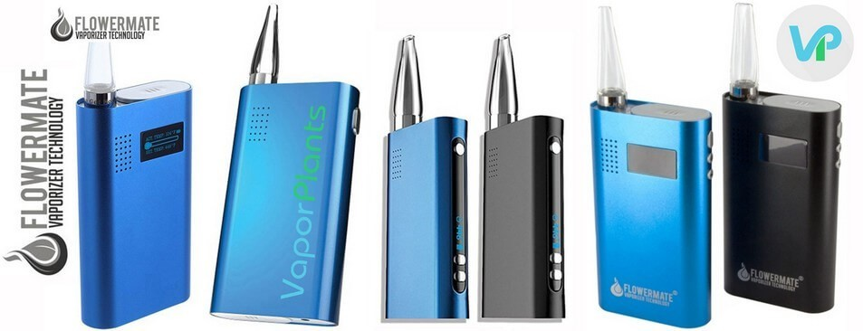 Flowermate Vaporizers V5.0S Series for Dry Herb, Wax, and Oil