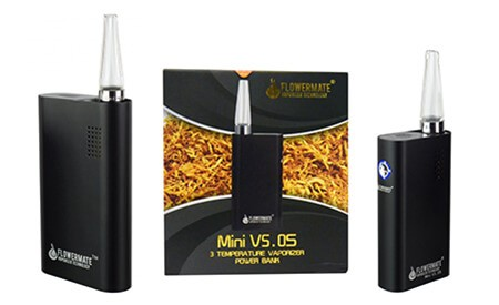 Flowermate Vaporizer mini v5.0 and Flowermate v5.0s