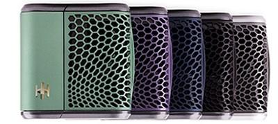 Haze Vaporizer Colors Side by Side