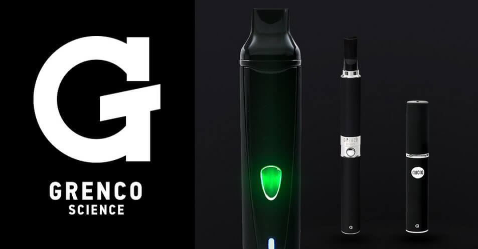 Grenco Science all Herbal Vaporizers Side by Side