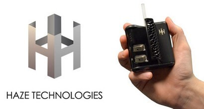 Haze Vaporizer 3.0 in Palm of the Hand