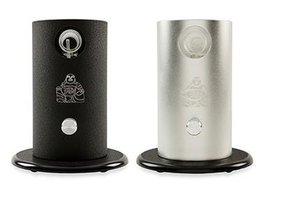 silver and black Da Buddha Vaporizer
