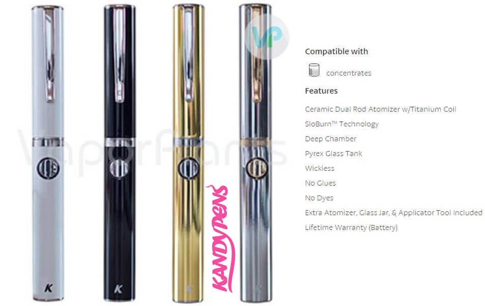 KandyPens Executive Wax Vaporizer Description