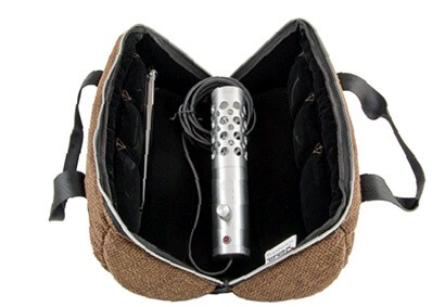 Life Saber Vaporizer inside the carrying case