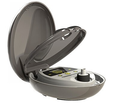 Herbalizer Vaporizer Open Side View