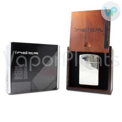 Indica Vaporizer for Dry Herb Weed Silver Color Open Box
