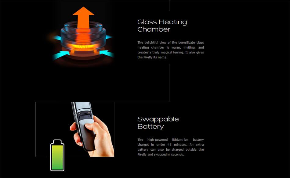 Firefly Vaporizer for marijuana Features