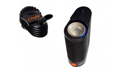 Crafty Vaporizer with open heating chamber showing