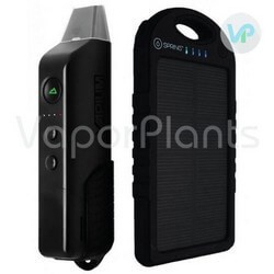 Vapium Summit Weekender Vaporizer with Solar Charger for Dry Herbs all Colors Side by Side