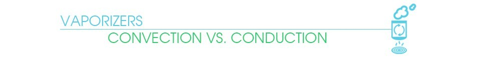 Conduction vs Convection Banner by VaporPlants