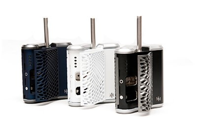 Haze Weed Vaporizer Colors and Open Side by Side